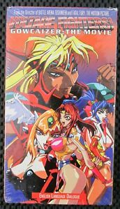 Voltage Fighters Gowcaizer The Movie Vhs Tape U S Manga