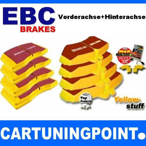 PASTIGLIE FRENO EBC VA + HA Yellowstuff per Porsche Boxster 981 dp42057r