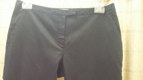 Light Pantalon Front noir Miu Black Italy taille Italy Pants Flat 34 léger 34 Miu devant stretch ultra Stretch qRZpqrw