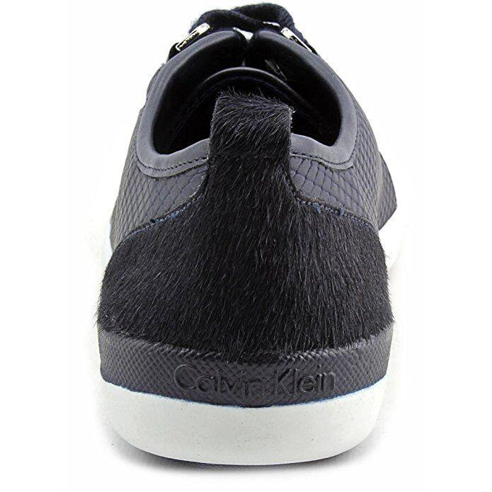 Calvin Klein Sneakers Schuhes Tanita Cow Silk Fashion Sneakers Navy 9.5M
