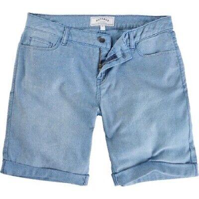 BNWT Falmouth Bermuda Chino Shorts- Natural 98/% Cotton Women/'s Fat Face