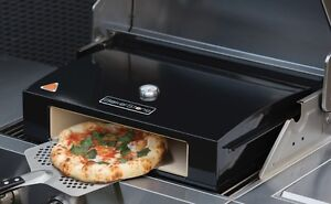 Bbq Pizza Oven.Details About Bakerstone Pizza Oven Stone Pizza Oven Box For Charcoal Gas Bbq 12 14