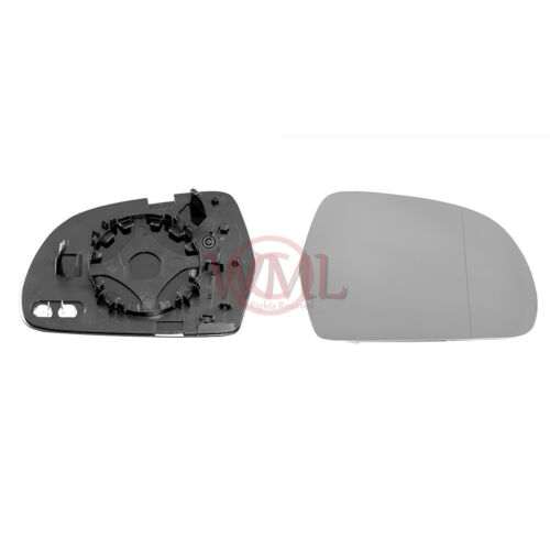 AUDI Q3 06/20112017 DOOR MIRROR GLASS SILVER ASPHERIC,HEATED & BASE,RIGHT