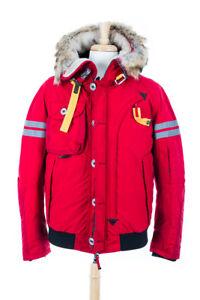 Image is loading Parajumpers-Tribe-Men-Bomber-Size-XXXL-Red