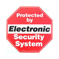 Safety 1st Alarm Security Sign For Yard With Mounting Poles No.7417 on sale