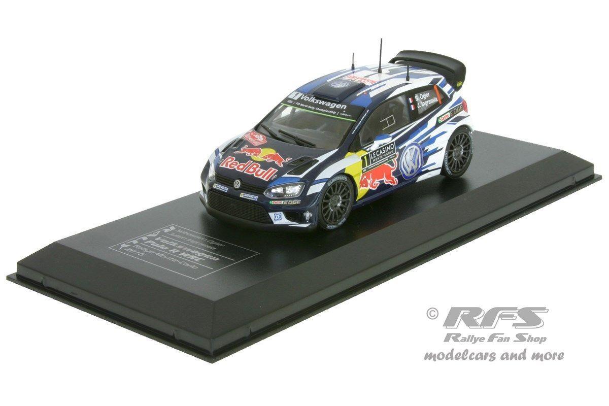 VW Polo R WRC - Rallye Monte Carlo 2016 - Ogier   Ingrassia - 1 43 IXO