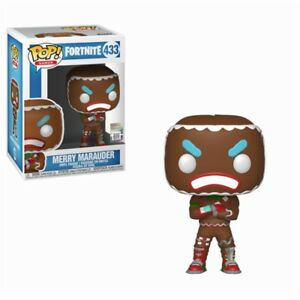 Fortnite Battle Royale Merry Marauder Pop! Games #433 Vinyl Figurine Funko-afficher Le Titre D'origine