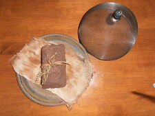 EarlY LOOK  LoaF PanTry CaKe MaKe Do RusTic Primitive Farmhouse CounTrY DecoR