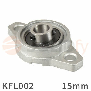 KFL002-Flanschlager-15-mm-Flansch-Lager-Gehaeuselager-flange-bearing-pillow-block