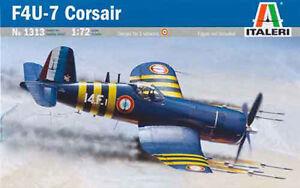 Maqueta-del-caza-norteamericano-F4U-7-034-Corsair-034-de-posguerra-de-ITALERI-a-1-72