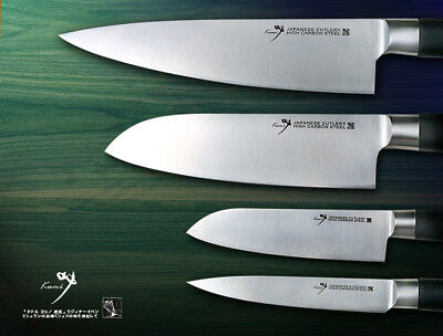 Japanese Steel Chef\'s Knife Santoku Fruit Utility Knife Kit Kitchen Cutlery  471086803319   eBay