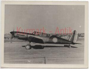 S161-Foto-Wehrmacht-Luftwaffe-Flugzeug-Beute-AR96-plane-Frankreich-AR396