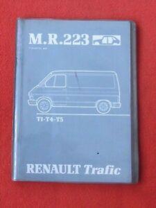 Manuel D'atelier M.r.223 Revue Technique Renault Trafic T1-t4-t5
