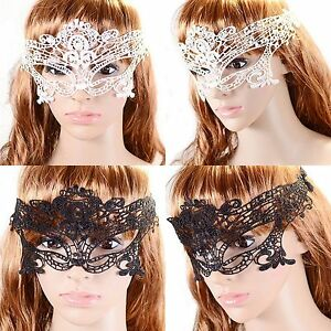 SEXY-Spitzen-Maske-Augenmaske-Spitze-VENEZIANISCHE-GESICHTSMASKE-Karneval