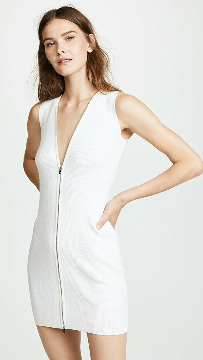 NWT,  450, Rag & BoneVivienne Ribbed Dress, Storlek xs