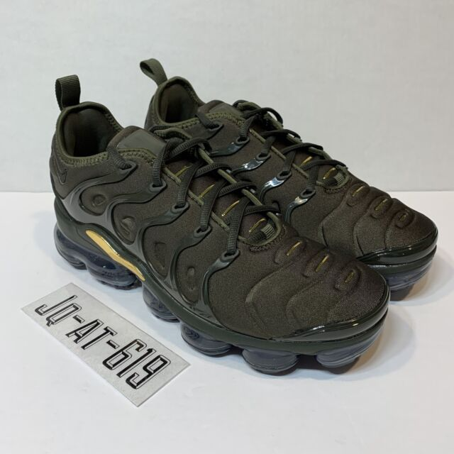acd0a40fd1 NIKE AIR VAPORMAX PLUS SIZE 8.5 CARGO KHAKI/SEQUOIA-CLAY GREEN 924453 300