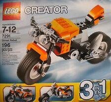 Lego 7291 Creator Street Rebel 193 pcs - 2012 NEW Sealed