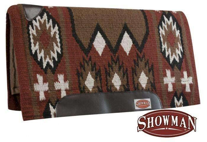 Showman 36 x34  Cortador Cojín con fieltro de memoria & Óxido Navajo Diseño  nuevo Tachuela