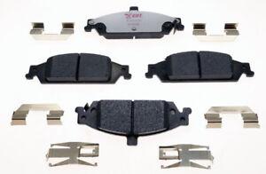 Disc Brake Pad Set-Element3 Hybrid Technology Front Raybestos EHT857