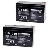 Upg 12v 8ah Battery For Elk M1 Gold Control Kit Elk-m1gsys4 - 2 Pack