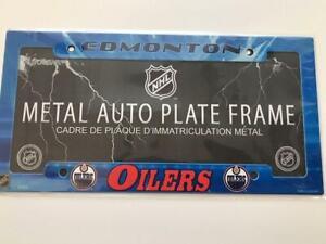 Edmonton Oilers Air Brushed License Plate Frame (New) Calgary Alberta Preview