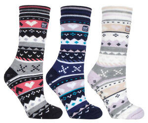 2 pair pack Mens Non Slip Slipper Socks 2.6 Tog Rated Thermal