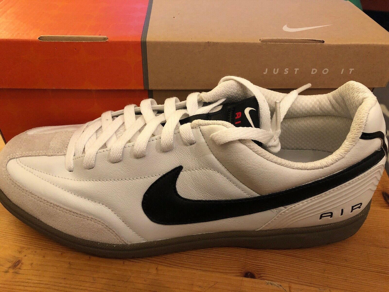 NEW  NIKE AIR TIEMPO RIVAL LOW SNEAKERS MEN SHOES 11401-101 SIZE 11 White RARE