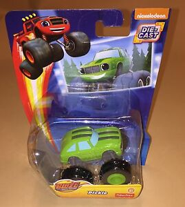 Fisher-Price-Blaze-and-the-Monster-Machines-Pickle-Die-Cast-Toy-Vehicle-New