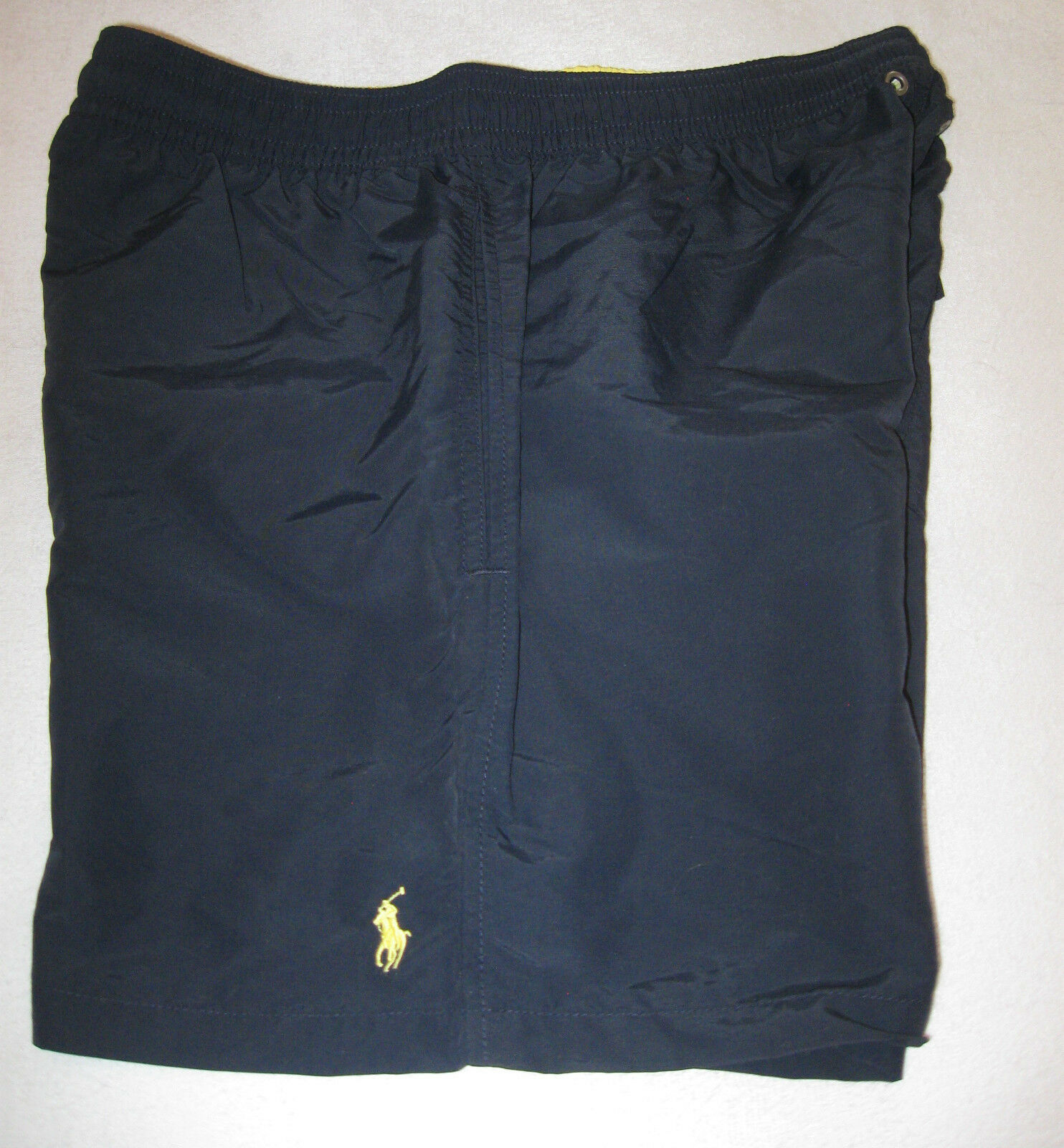 POLO Ralph Lauren Mens Swim Trunks NWT S, M, L, XXL - Navy bluee, Yellow Pony