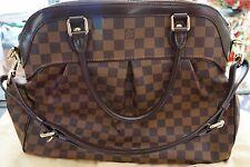 Authentic LOUIS VUITTON Trevi GM Shoulder Bag Handbag Damier Canvas N51998