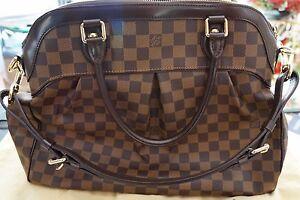 Image is loading Authentic-LOUIS-VUITTON-Trevi-GM-Shoulder-Bag-Handbag- b71b862c2dec8