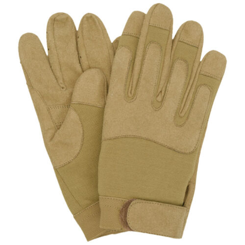 TACTICAL MILITARY COMBAT ARMY GLOVES CLARINO AIRSOFT SHOOTING COYOTE BROWN S-XXL
