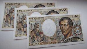 3-billets-a-suivre-200F-Montesquieu-etat-TTB