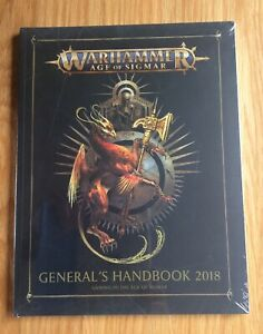 CoopéRative Aos: General's Handbook 2018, Paperback Games Workshop Neuf 60040299072-afficher Le Titre D'origine Pure Blancheur