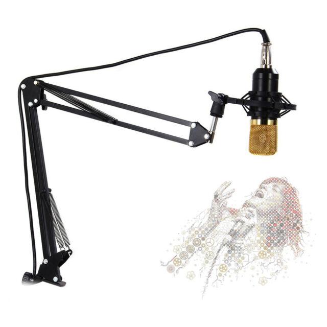 Black NB-35 Adjustable Studio Microphone Boom Scissor Arm Desktop Stand Holder