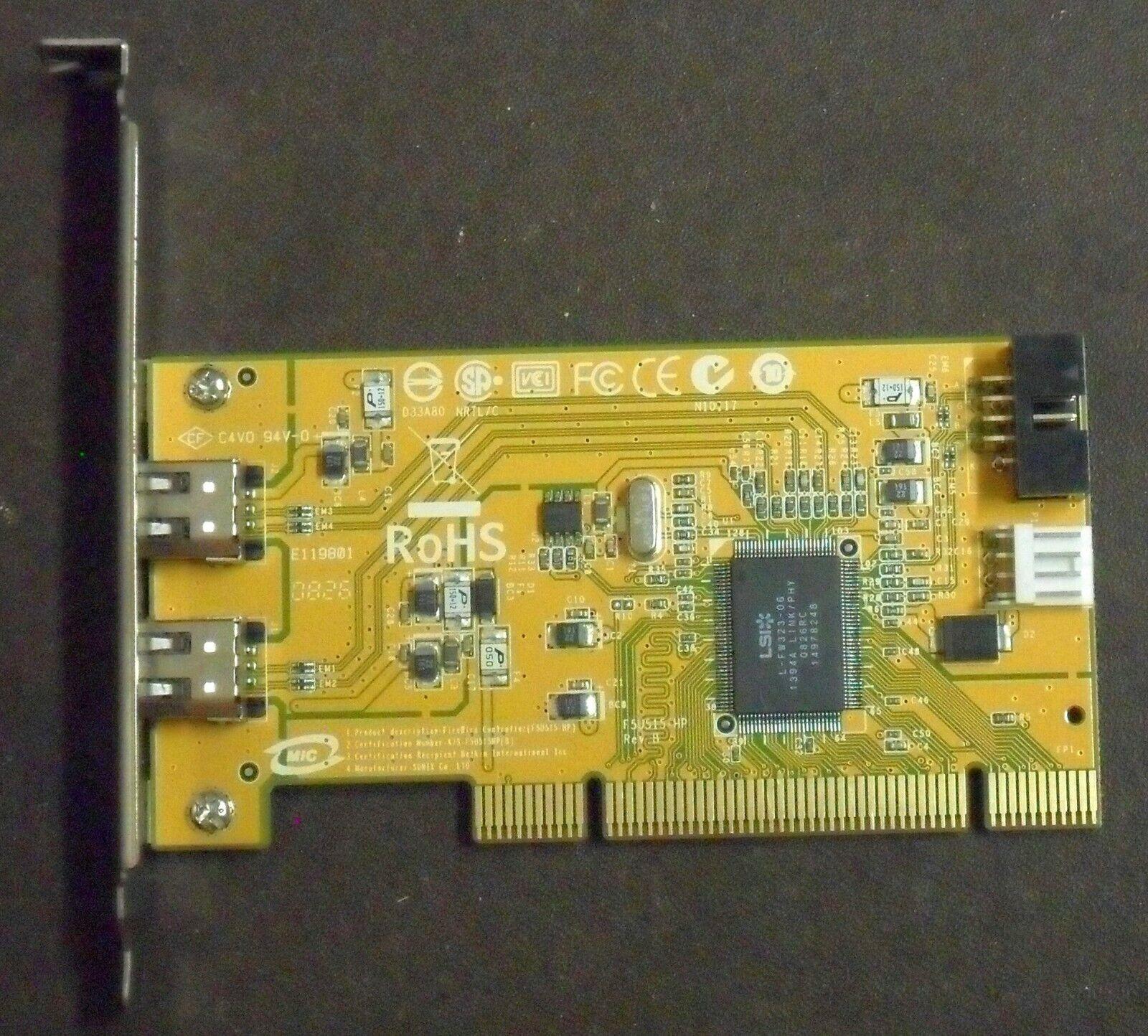 1394 FireWire PCI (32bit) 3.3v or 5v