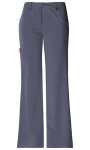 Dickies-Scrubs-Xtreme-Stretch-Cargo-Scrub-Pants-82011-Pewter-Junior-Fit