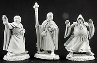 Townsfolk 7 Clergy Reaper Miniatures Dark Heaven Legends RPG Cleric Priest Monk