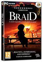 Braid (PC CD) NEW SEALED