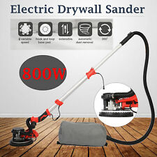 Electric Drywall Sander 800w Adjustable 6 Speed Removable Chassis Edge Light Bar
