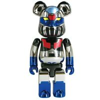 $120 Medicom Mazinger Z 200% Chogokin Bearbrick Super Alloy Chrome