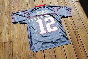 Unique New England Patriots Tom Brady Super Bowl XLVI Adult Large ...