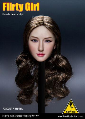 """1//6 provocante Ragazza Collectibles HS46 ragazza asiatica Bellezza testa intaglio Fit Figura 12/"""""""