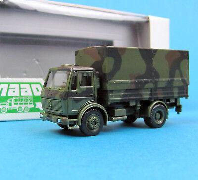 Herpa Maag H0 740029 MB LKW 5t Hochplane getarnt Bundeswehr 1:87 HO Minitanks