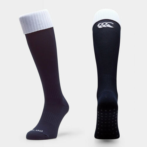 New Midnight Blue England Rugby Canterbury Men/'s 2019-20 Home Rugby Socks