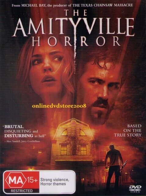The AMITYVILLE HORROR (Ryan REYNOLDS Melissa GEORGE) HORROR Film DVD Region 4