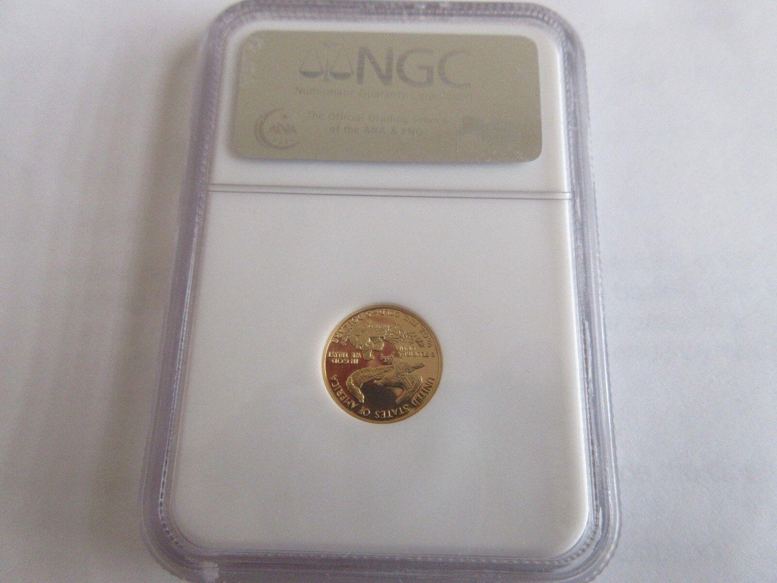 1989 P Gold Eagle G$5 NGC PF 70 Ultra Cameo