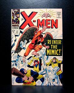 COMICS-Marvel-X-men-27-1966-vol-1-Mimic-joins-team-RARE