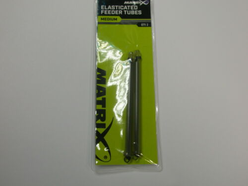 Matrix 2 x 2pk élastique Feeder tubes Toutes Tailles Pêche à