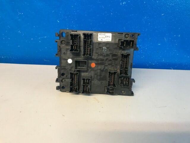 2001 2002 2003 Infiniti Qx4 Body Control Module Fuse Relay Box 243505w900j Oem